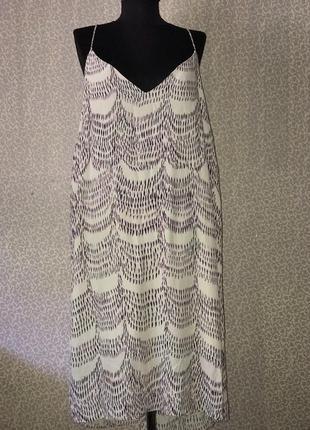 Легчайшее платье из вискозы большого размера