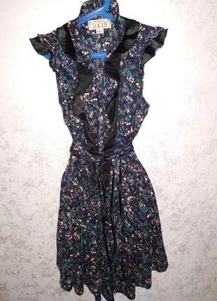 Платье халат на запахе lucid 14