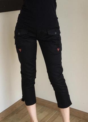 Стильные джинсы-капри, бриджи zuiki, италия