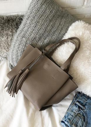 Елегантна невелика сумочка на 3 відділення