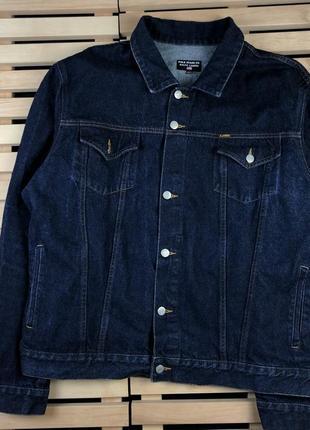 Крутая джинсовая куртка polo jeans by ralph lauren размер l-xl