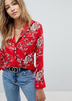 Красная блуза missguided
