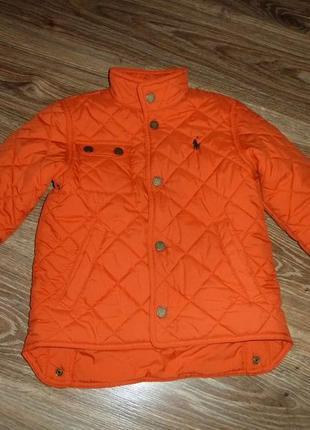 Стеганая куртка на 4 года ralph lauren 4t, оригинал отличное состояние