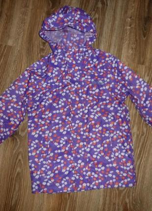 Непромокаемая куртка, ветровка, дождевик regatta на 5-6 лет