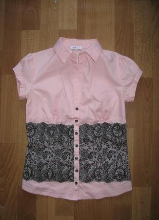 Красивая кружевная блузка oodji