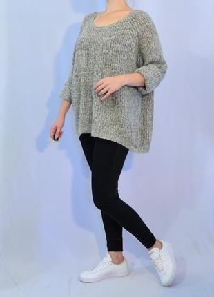 2899\100 свитер с металлизированной нитью f&f xxxxl
