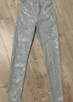 Летние джинсы с молнией сзади от h&m