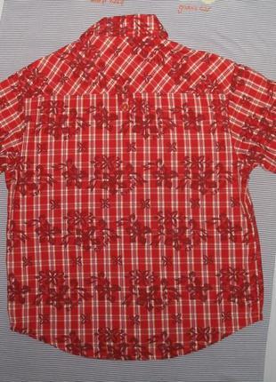 Рубашка летняя рост 128-1342 фото