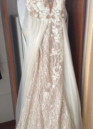 Шикарнейшее свадебное платье crystal design10 фото