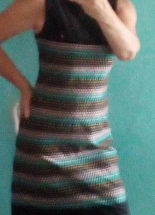 Платье супер ,идеально сидит по фигуре на подкладке.ог45,от80,об100,длина 100см.  ,