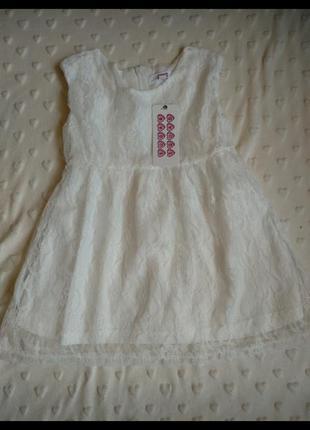 Легеньке літнє плаття на 2-3р