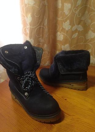 Ботинки/ зима/ овчина