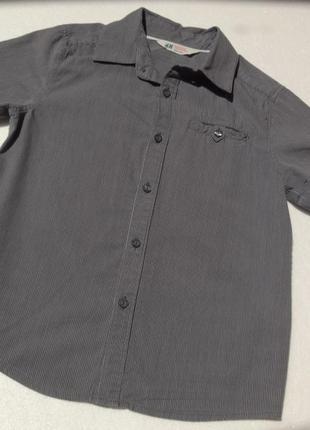 H&m. полосатая рубашка