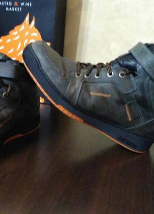 Зимние ботинки (натуральная кожа)