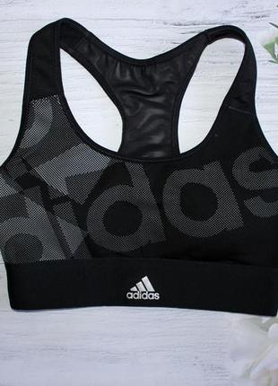 Трендовий спортивний топ з чашечками adidas xs