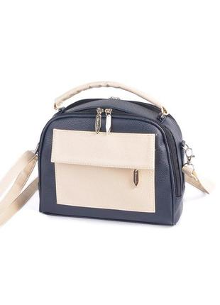 Маленькая сумка портфель с ручкой и ремешком через плечо кроссбоди9 фото
