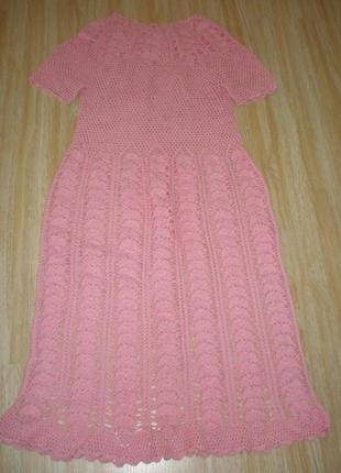 Вязаное платье супер шик!