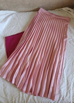 Миди юбка плиссе amisu
