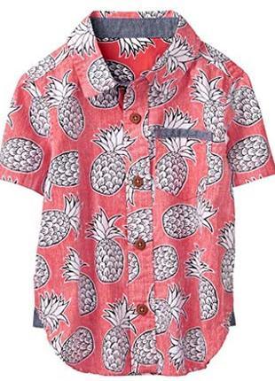 Рубашка для мальчика 6-8 лет gymboree