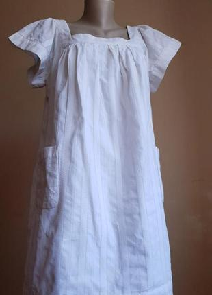 Платье хлопок карманы french connection англия
