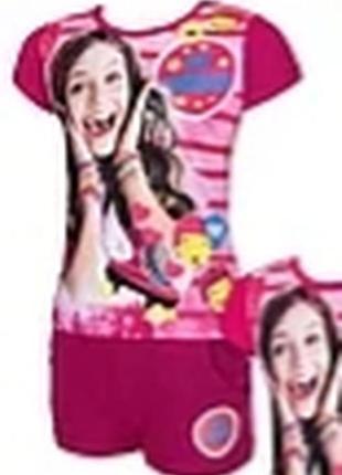 Комплект трикотажный футболка и шорты luna disney