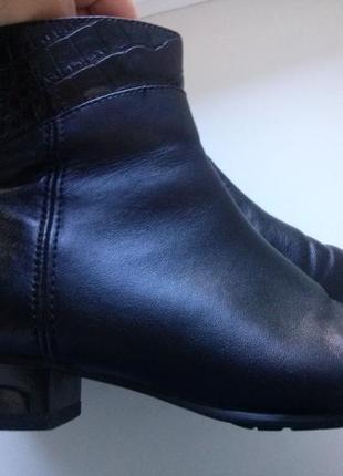 Элегантные кожаные ботиночки