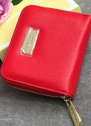 Суперский компактный кошелёк из натуральной кожи
