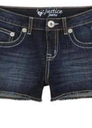 Оригінал!!! суперові жіночі шорти із сша justice jeans 14r