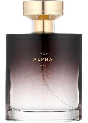 Туалетная вода avon alpha для него 75 мл
