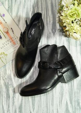 Lider. италия. кожа. стильные ботинки высокого качества