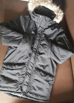 Новая парка. курточка. бобка h&m пуховик