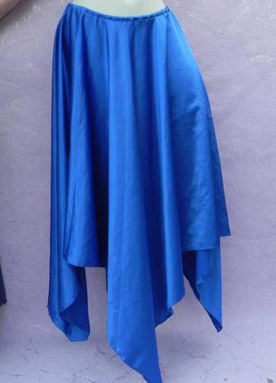 Оригинальная юбка c асимметричным подолом