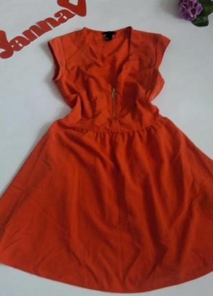Платье 46 размер мини короткое h&m