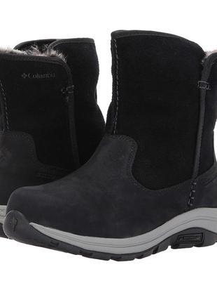 Кожаные сапоги columbia bangor 42-43р оригинал ботинки