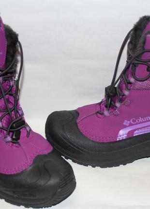 Зимние сапоги ботинки columbia bugaboot р. 38 ст. 25