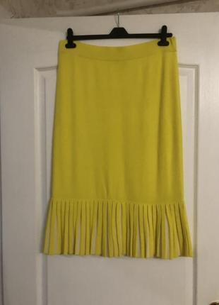 Трендовая желтая юбка cos, новая!