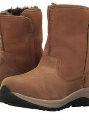 Зимние кожаные сапоги columbia bangor 43р оригинал ботинки