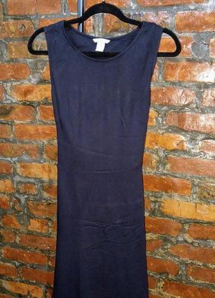 Платье с драпировкой на спинке h&m2 фото