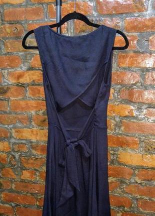 Платье с драпировкой на спинке h&m3 фото