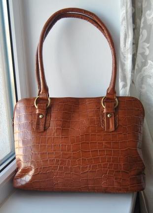 Кожаная сумка  south / шкіряна сумка