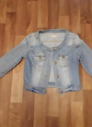 Джинсовая куртка yes
