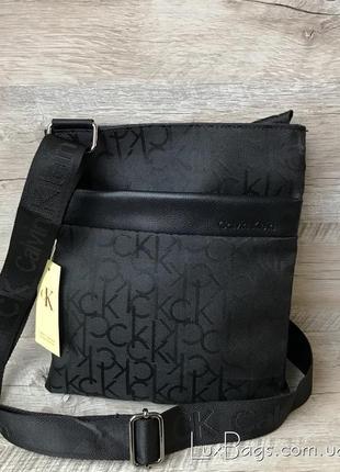 Стильная  мужская сумка планшет через плечо