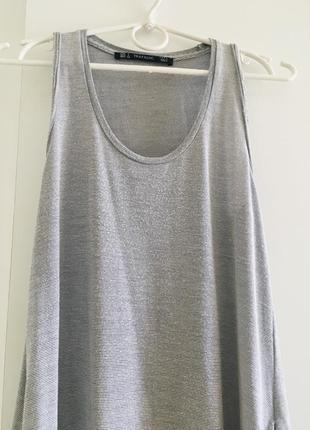 Платье zara в пол