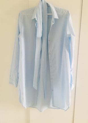 Рубашка платье h&m