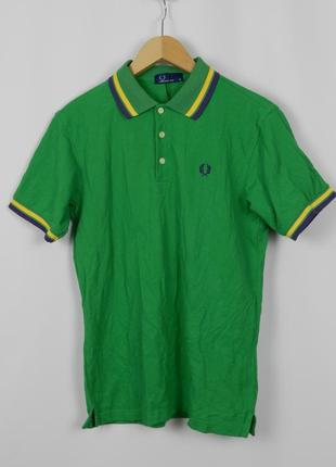 Fred perry поло зеленое, м