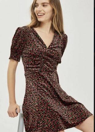 1+1=3 бархатное платье, велюровое, вельветовое topshop 14