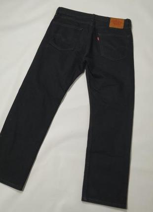 Levis 505 джинсы черные 32/30