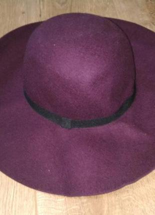 Шляпа sombrero из шерсти.esmara/германия.57-59