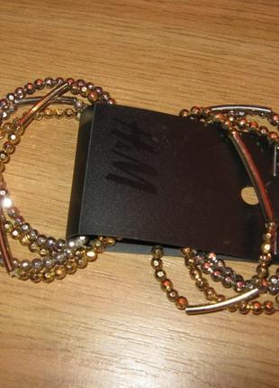 """Стильные браслеты""""h&m"""", 8 шт.-набор, германия."""