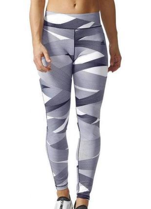 Шикарные лосины /леггинсы adidas climalite для спорта